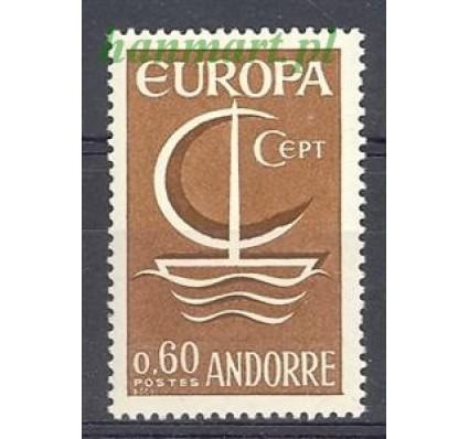 Andora Francuska 1966 Mi 198 Czyste **