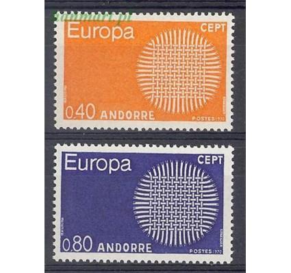 Andora Francuska 1970 Mi 222-223 Czyste **