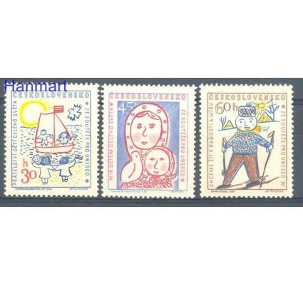 Znaczek Czechosłowacja 1958 Mi 1106-1108 Czyste **