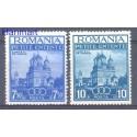 Rumunia 1937 Mi 536-537 Czyste **