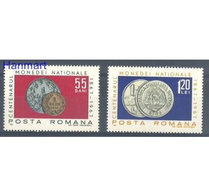 Rumunia 1967 Mi 2589-2590 Czyste **