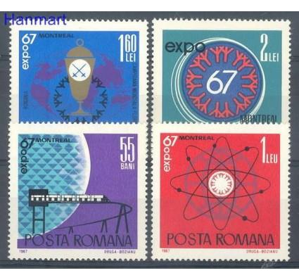 Znaczek Rumunia 1967 Mi 2635-2638 Czyste **
