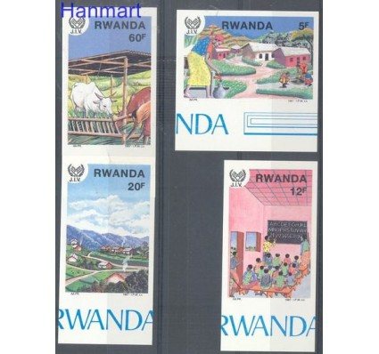 Rwanda 1987 Czyste **