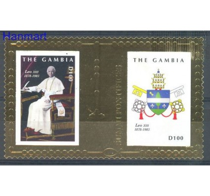 Znaczek Gambia 2010 Mi bl 796 Czyste **