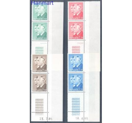 Znaczek Monako 1985 Mi 1700-1703 Czyste **