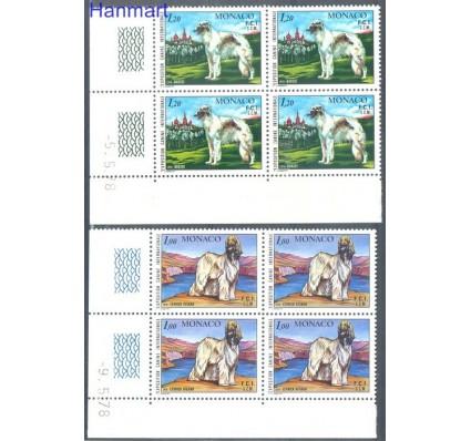 Znaczek Monako 1978 Mi 1347-1348 Czyste **