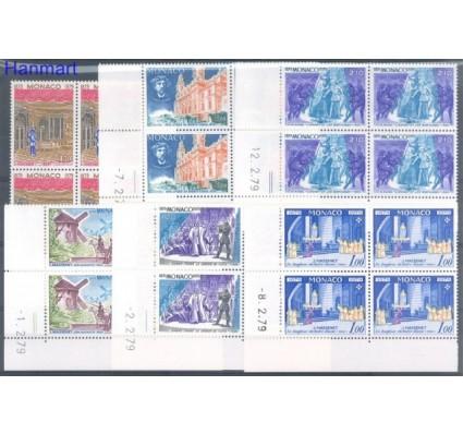 Monako 1979 Mi 1364-1369 Czyste **