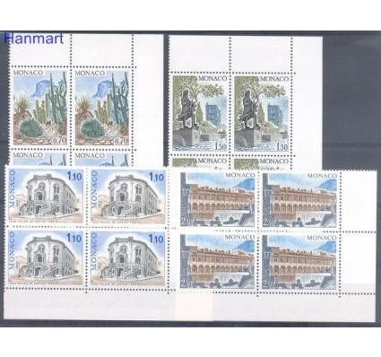 Monako 1980 Mi 1406-1409 Czyste **