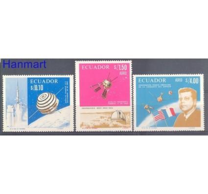 Znaczek Ekwador 1966 Mi 1283-1285 Czyste **