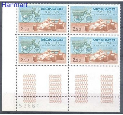Znaczek Monako 1983 Mi 1583 Czyste **