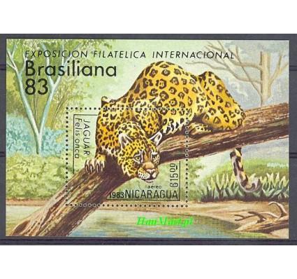 Znaczek Nikaragua 1983 Mi bl 152 Czyste **