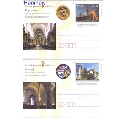 Znaczek Polska 2011 Fi Cp 1569-1570 Całostka pocztowa