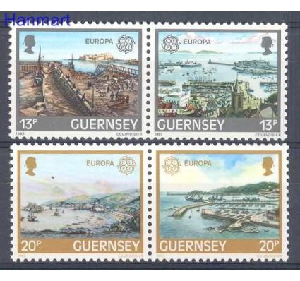 Znaczek Guernsey 1983 Mi 265-268 Czyste **