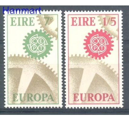 Znaczek Irlandia 1967 Mi 192-193 Czyste **