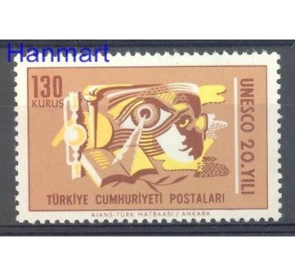 Znaczek Turcja 1966 Mi 2023 Czyste **