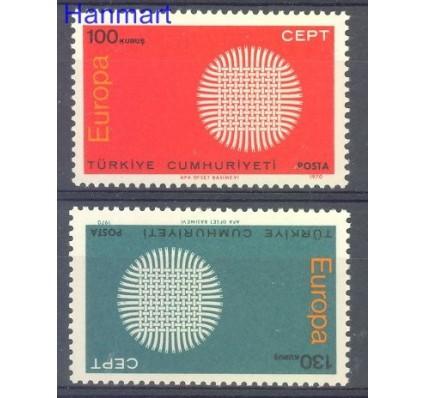 Turcja 1970 Mi 2179-2180 Czyste **