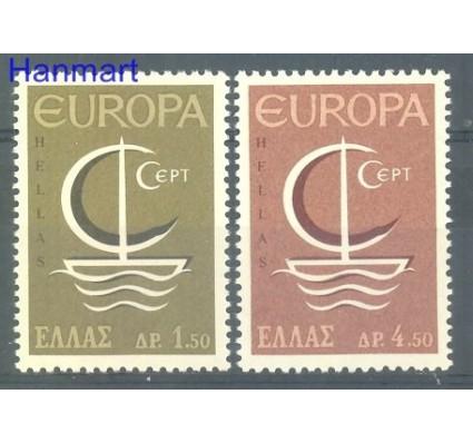 Znaczek Grecja 1966 Mi 919-920 Czyste **