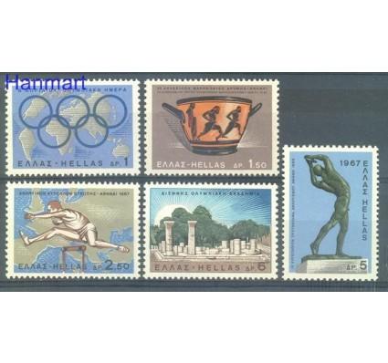 Znaczek Grecja 1967 Mi 943-947 Czyste **