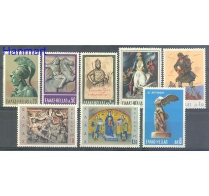 Znaczek Grecja 1968 Mi 976-983 Czyste **