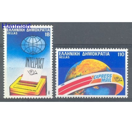 Grecja 1986 Mi 1632-1633 Czyste **