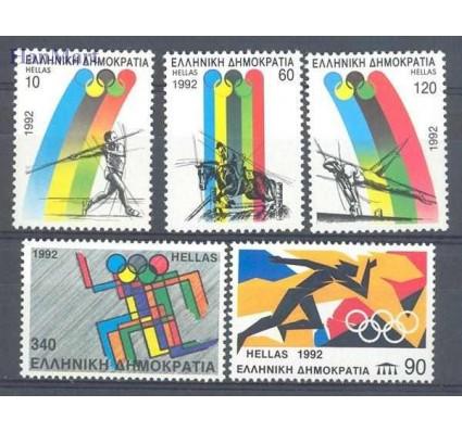 Grecja 1992 Mi 1792-1796 Czyste **