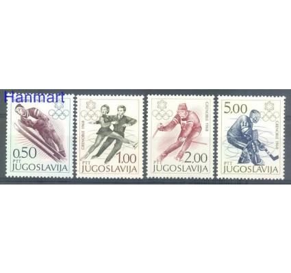Znaczek Jugosławia 1968 Mi 1262-1265 Czyste **