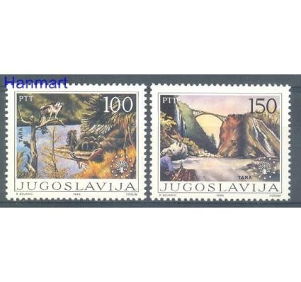 Znaczek Jugosławia 1986 Mi 2148-2149 Czyste **