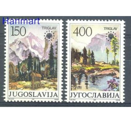 Znaczek Jugosławia 1987 Mi 2211-2212 Czyste **