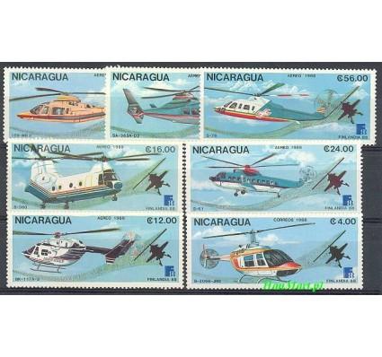 Znaczek Nikaragua 1988 Mi 2879-2885 Czyste **