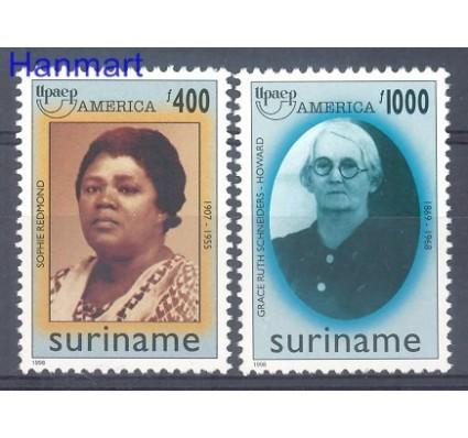 Znaczek Surinam 1998 Mi 1659-1660 Czyste **