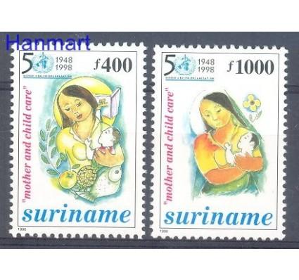 Surinam 1998 Mi 1672-1673 Czyste **