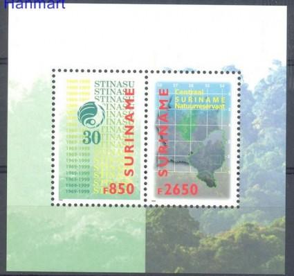 Znaczek Surinam 1999 Mi bl 76 Czyste **