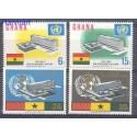 Ghana 1966 Mi 257-260 Czyste **