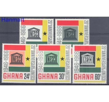 Ghana 1966 Mi 274-278 Czyste **