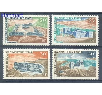 Znaczek Francuskie Terytorium Afarów i Issów 1968 Mi 12-15 Czyste **