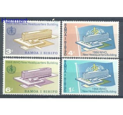 Samoa i Sisifo 1966 Mi 141-144 Czyste **