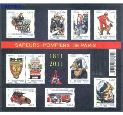 Francja 2011 Mi ark 5167-5176 Czyste **
