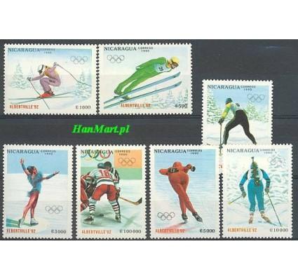Znaczek Nikaragua 1990 Mi 3008-3014 Czyste **