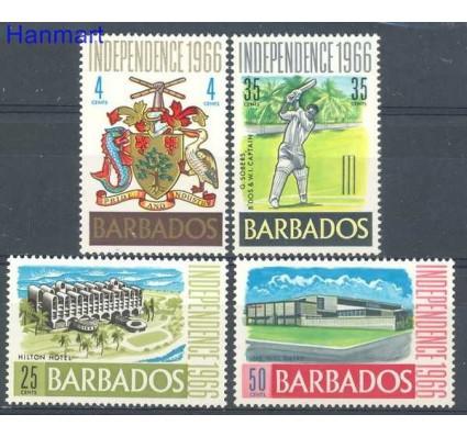 Barbados 1966 Mi 255-258 Czyste **