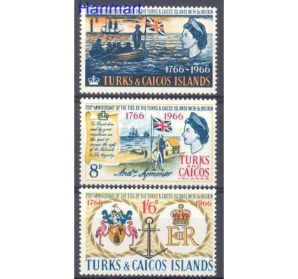 Znaczek Turks i Caicos 1966 Mi 194-196 Czyste **