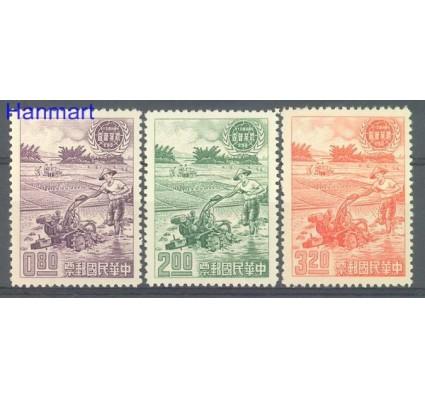 Tajwan 1961 Mi 399-401 Czyste **
