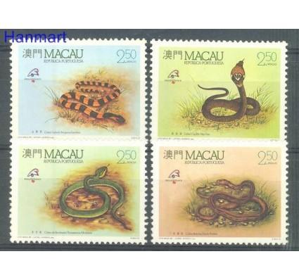 Znaczek Makau 1989 Mi 620-623 Czyste **