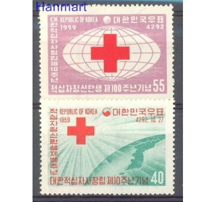 Korea Południowa 1959 Mi 293-294 Czyste **