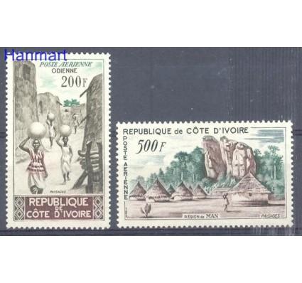 Znaczek Wybrzeże Kości Słoniowej 1962 Mi 241-242 Czyste **