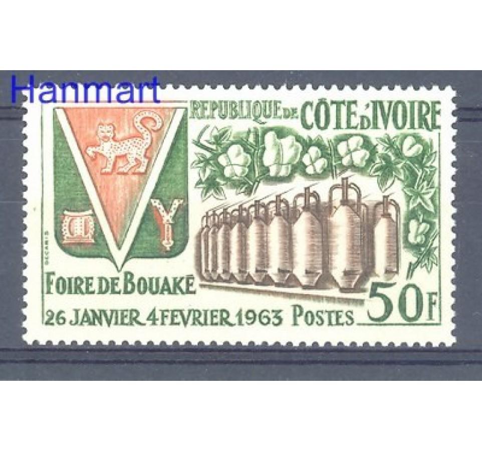 Wybrzeże Kości Słoniowej 1963 Mi 245 Czyste **