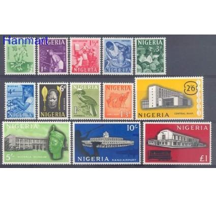 Znaczek Nigeria 1961 Mi 92-104 Czyste **