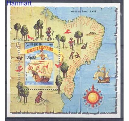 Gwinea Bissau 1983 Mi bl 253 Czyste **