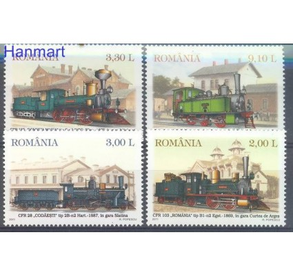 Znaczek Rumunia 2011 Mi 6551-6554 Czyste **
