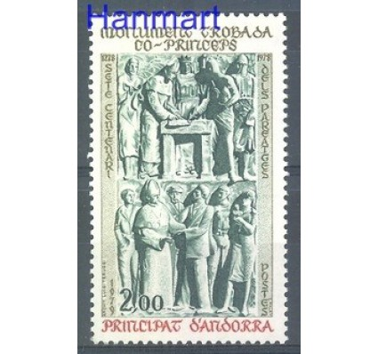Andora Francuska 1979 Mi 301 Czyste **
