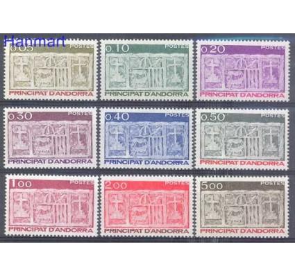 Znaczek Andora Francuska 1983 Mi 337-345 Czyste **